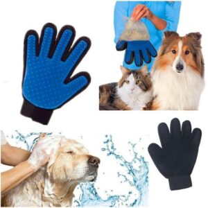 Pet Five Finger Deshedding gloves