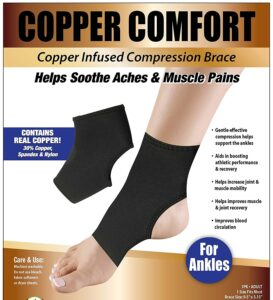Copper Comfort Ankle Sleeve