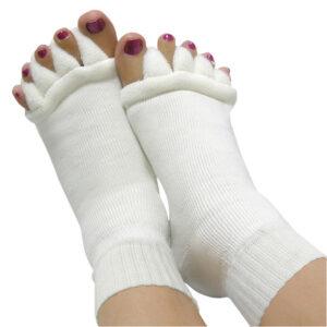 Foot alignment sock