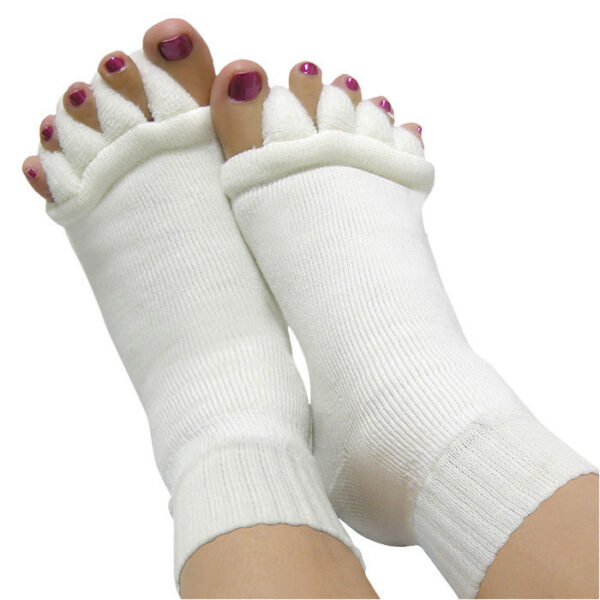 Foot alignment sock